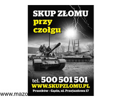 Skup złomu i metali kolorowych- najwyższe cenny w regionie mazowieckim